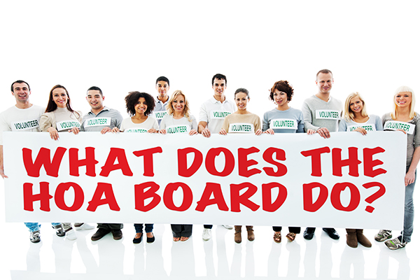 Enforce, collect, and hire help: An association board's biggest responsibilities