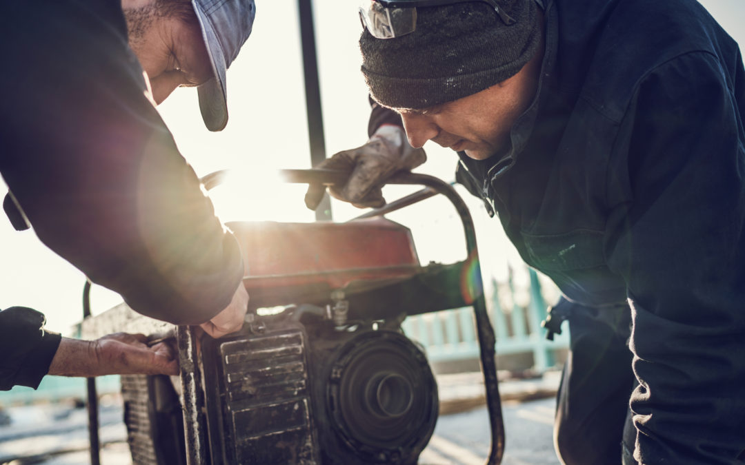 Stay warm: How to safely operate a generator during the winter